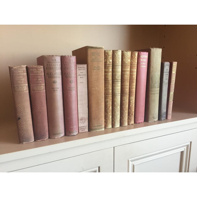Antique Pastel Books - Set of 14 - Image 4 of 6