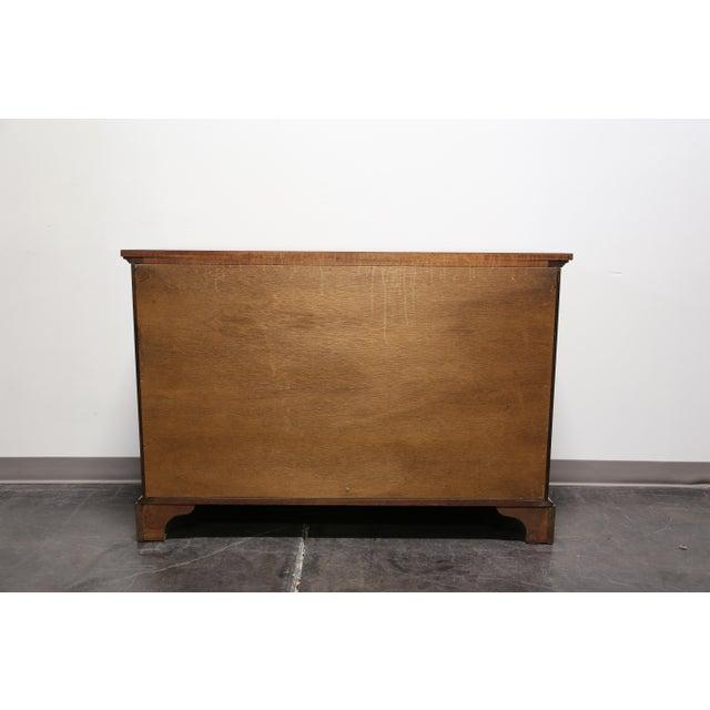 Vintage CRAFTIQUE Solid Mahogany Chippendale Nine Drawer Dresser - Image 10 of 11