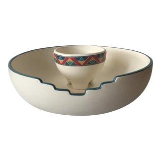 Santa Fe Style Chip & Dip Plate
