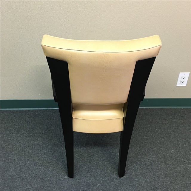 Dakota Jackson Ocean Leather Chair - Image 4 of 10