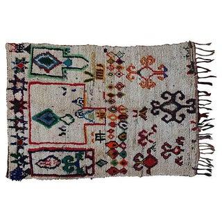 "Moroccan Azilal Rug -- 3'7"" x 5'7"""