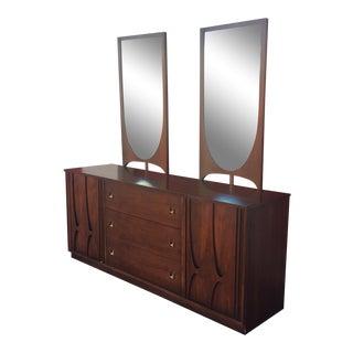 Mid-Century Modern Broyhill Brasilia Low Dresser