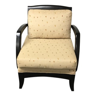 Nova Black Lazar Arm Chair
