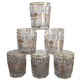 Midcentury Highball Glasses - Set of Six