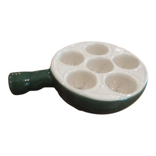 Emile Henry Ceramic Escargot Cookware/Server