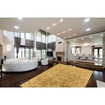 """Image of Hand-Knotted Gold Wool Rug - 7'10"""" x 9'9"""""""