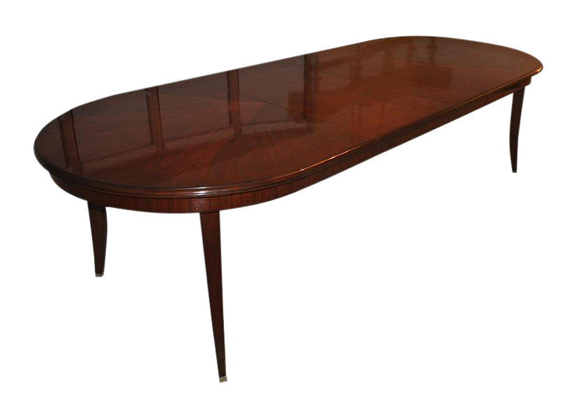 Williams Sonoma Solid Mahogany Dining Table