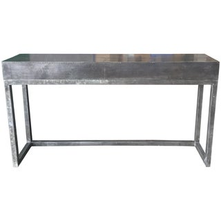 Industrial Zinc & Steel Console