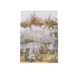 1905 Ella du Cane Print, Cadenabbia, Lago di Como