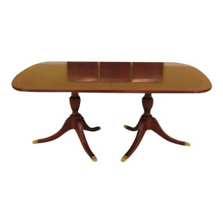 Henkel Harris Mahogany Dining Room Table