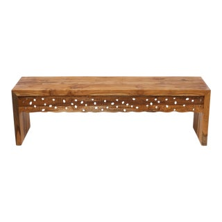 Indonesian Teak Bench