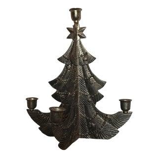 Godinger Bronze Tree Candleholder