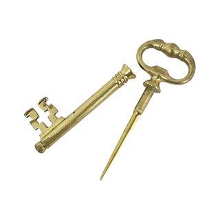 Skeleton Key Letter Opener