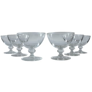 Coupe Champagne Glasses - Set of 6