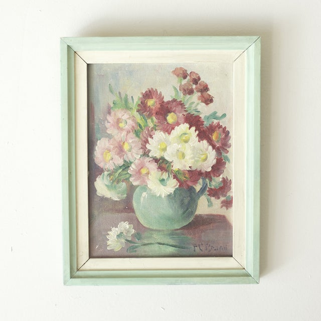 Floral Oil Painting by Frances Brand - Image 2 of 4