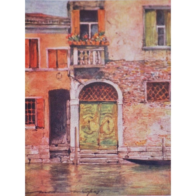 'Windows & Doors of Venice' Lithographs - Set of 4 - Image 4 of 8