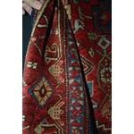 "Image of Persian Heriz Rug - 4'5"" x 6'"