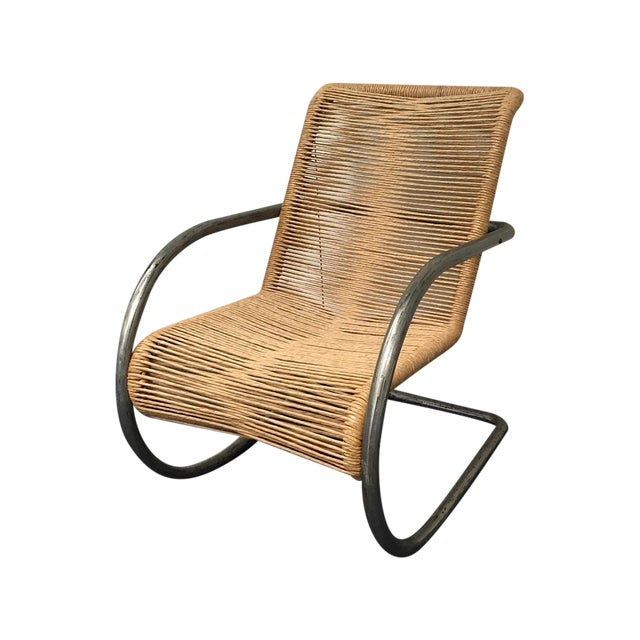 Nord Metal & Rope Side Chair - Image 1 of 6