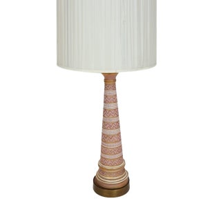 Bitossi Aldo Londi Seta Soft Pink Table Lamp