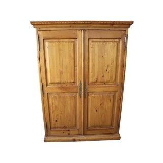 kreiss knotty pine wardrobe armoire