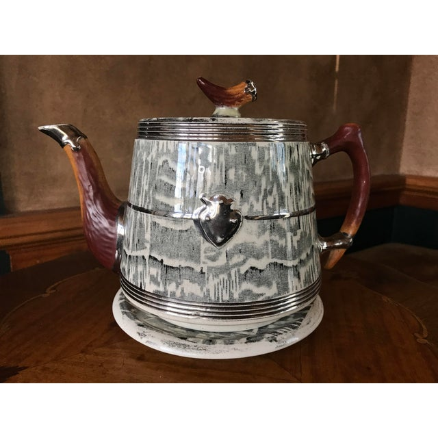 1930s Arthur Wood Silver Shield Teapot - Image 11 of 11