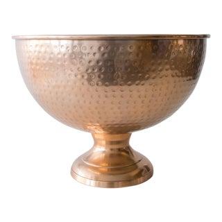Hammered Copper Ice Bucket