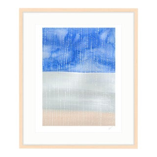 """Shorelines IV"" Watercolor Giclee Print"