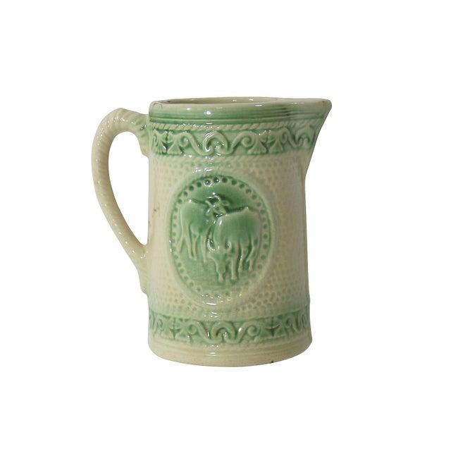 Antique Ceramic Cow Pitcher - Image 9 of 9