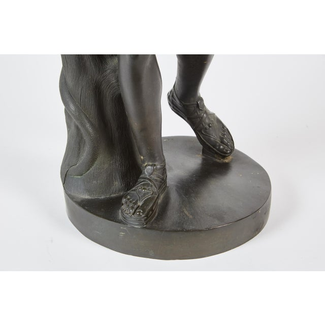 Late 19th Century French Bronze Sculpture of Apollo Belvedere - Image 4 of 6