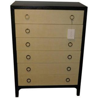 Ralph Lauren Parchment Drawer/Oak Tall Dresser