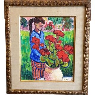 Virginie Original Louis Neillot Painting