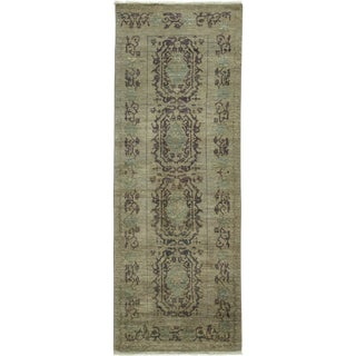 "Traditional Hand Knotted Runner - 3'1"" X 8'6"""