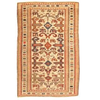 Antique Late 19th Century Caucasian Prepedil Rug