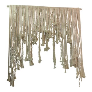 Boho Chic Woven Wall Sculpture
