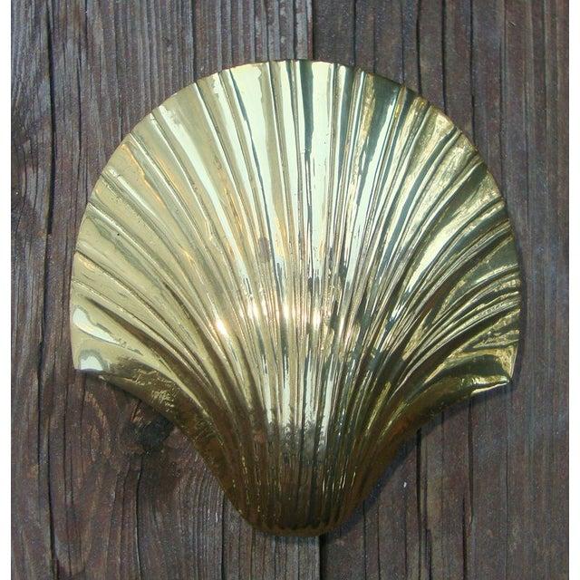 Art Deco Brass Seashell Candy Box - Image 2 of 7