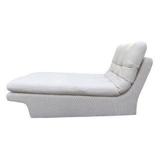 Vladimir Kagan-Style Sculptural Chaise Lounge