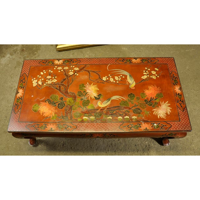 Vintage Asian Style Coffee Table - Image 3 of 8