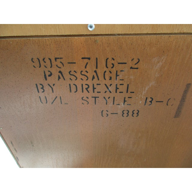 Drexel Heritage Campaign Style Bar Cabinet - Image 11 of 11