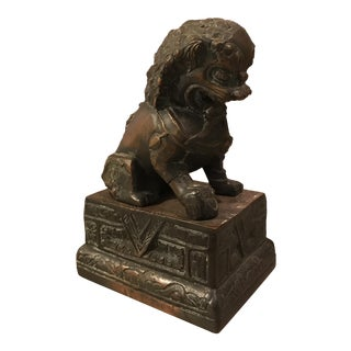 Antique Bronze Foo Dog
