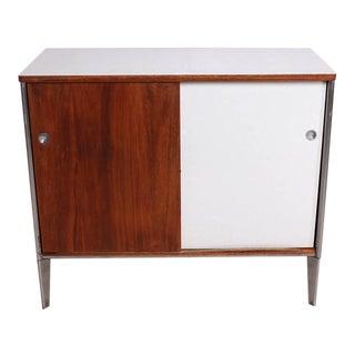 Mid-Century Modern Cabinet Walnut Plywood
