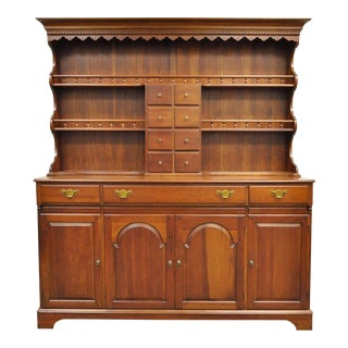 Cherry Hutch China Cabinet