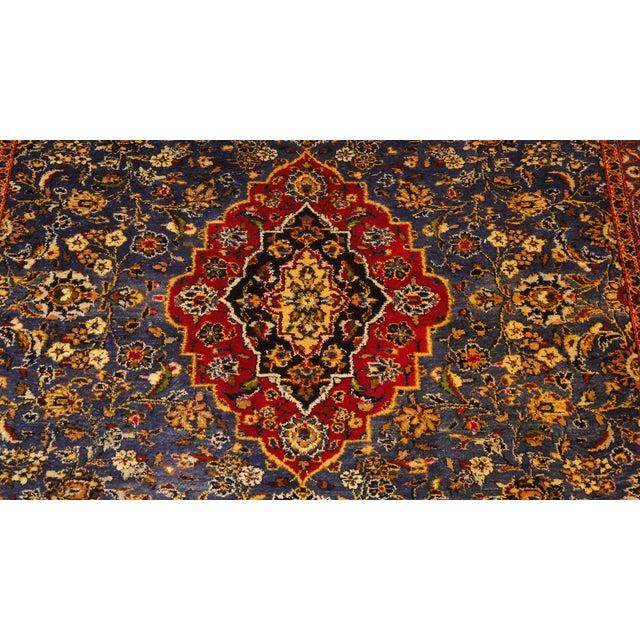 "Persian Silk Kashan Rug - 5' x 7'7"" - Image 3 of 7"