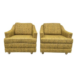 Kroehler Mid-Century Modern Lounge Chairs - A Pair