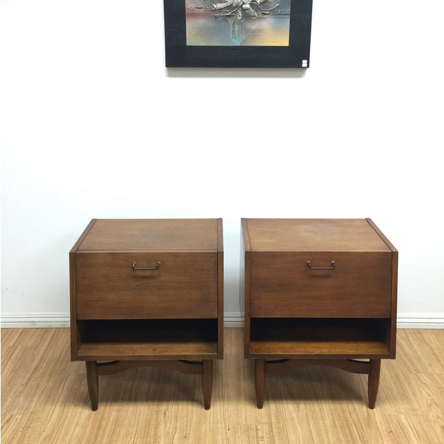 American of Martinsville Night Stands - Pair - Image 3 of 8
