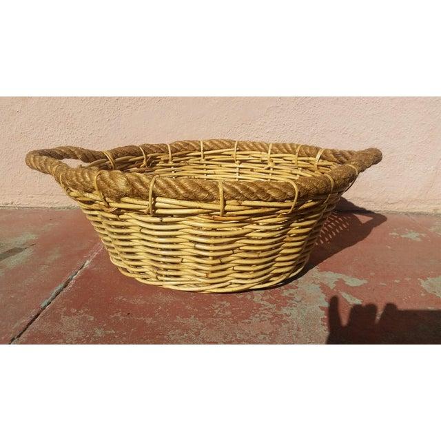 Large French Market Basket - Image 2 of 5