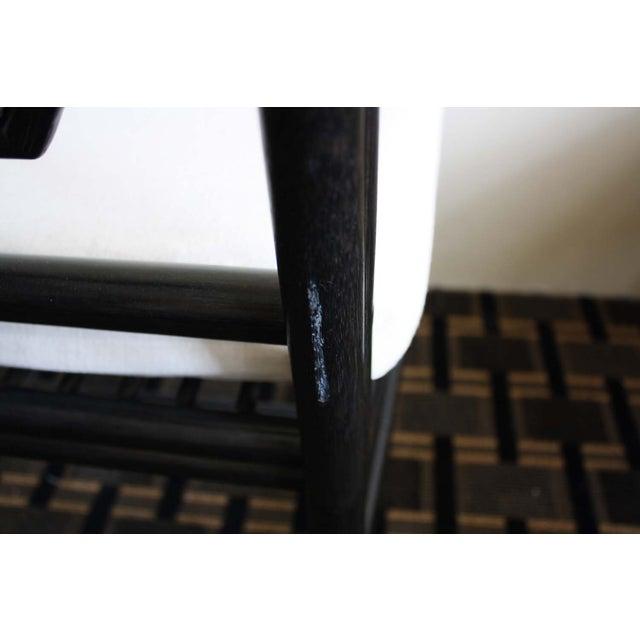 Image of McGuire Harlan Side Chair in Gunmetal