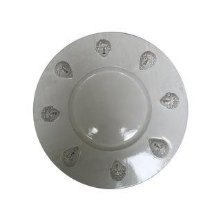 White Porcelain Facade Platter