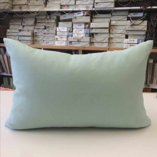 Tourmaline Linen Pillow Cover - Image 5 of 5