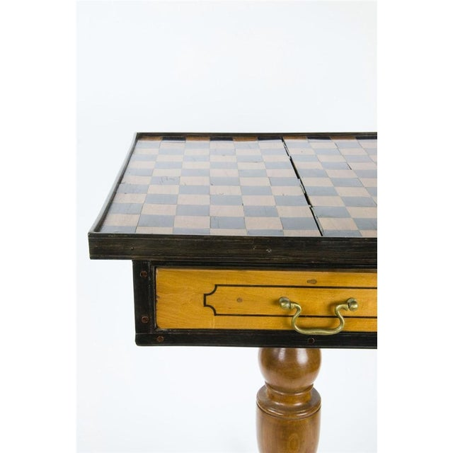 19th Century Italian Walnut Game Table - Image 7 of 9