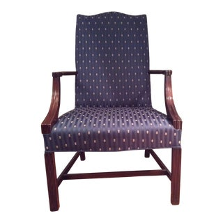 Chippendale Style Wing Chair